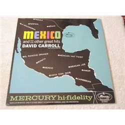 David Carroll - Mexico And 11 Other Great Hits Vinyl LP Record For Sale