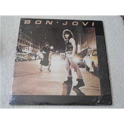 Bon Jovi - Self Titled Debut Vinyl LP Record For Sale - FIRST PRESSING