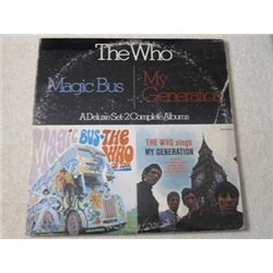 The Who - Magic Bus / The Who Sings My Generation Vinyl LP Record For Sale