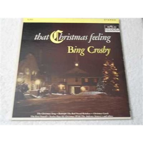 Bing Crosby - That Christmas Feeling Vinyl LP Record For Sale