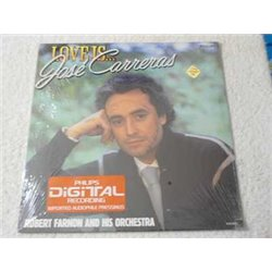 Jose Carreras - Love Is... Vinyl LP Record For Sale