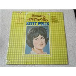 Kitty Wells - Country All The Way Vinyl LP Record For Sale