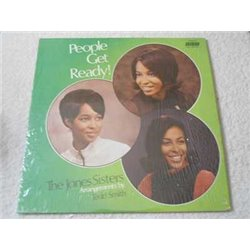 The Jones Sisters - People Get Ready! Vinyl LP Record For Sale