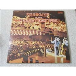 Grand Ole Opry - Great Moments At The Grand Ole Opry Vinyl LP Record For Sale