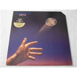 Opus - Live Is Life PROMO Vinyl LP Record For Sale