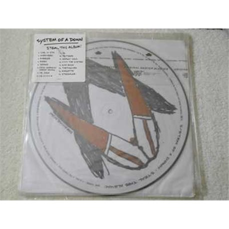 System Of A Down - Steal This Album ! 2xLP Picture Disc Vinyl LP Record For Sale