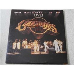 The Commodores - Live ! 2xLP Vinyl LP Record For Sale