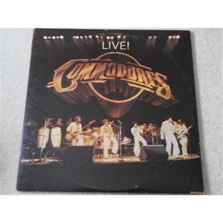 The Commodores - Live ! Vinyl LP Record For Sale