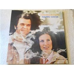 Conway Twitty & Loretta Lynn - Louisiana Woman, Mississippi Man Vinyl LP Record For Sale