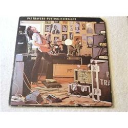 Pat Travers - Putting It Straight Vinyl LP Record For Sale