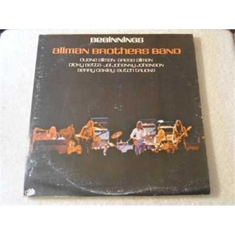 Allman Brothers Band - Beginnings Vinyl LP Record For Sale