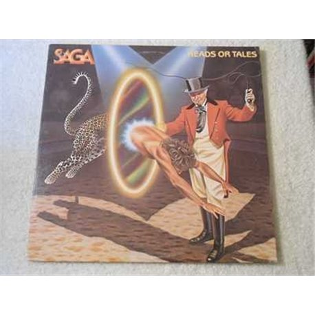 Saga - Heads Or Tales Vinyl LP Record For Sale