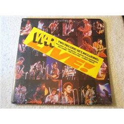War - LIVE! 2xLP Vinyl LP Record For Sale