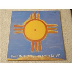 Paul McCartney - Ou est le Soleil? Vinyl LP Record For Sale