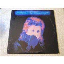 Aldo Nova - Subject Vinyl LP Record For Sale