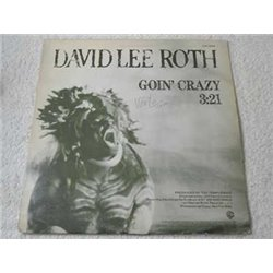"David Lee Roth - Goin' Crazy RARE 12"" PROMO Single Vinyl LP Record For Sale"
