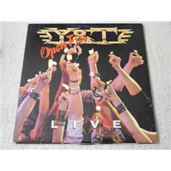 Y&T - Open Fire Live Vinyl Record Lp For Sale