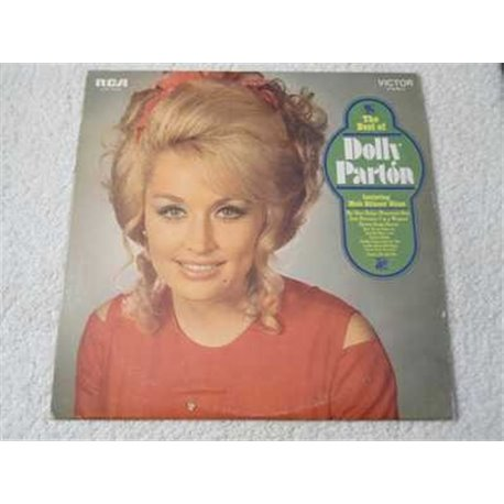 Dolly Parton - The Best Of Dolly Parton Lp Vinyl Record For Sale