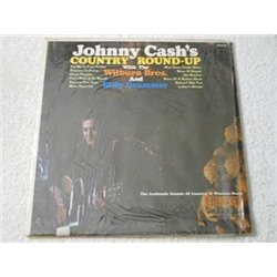 Johnny Cash - Country Round-Up LP Vinyl Record For Sale