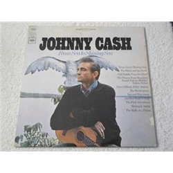 Johnny Cash - From Sea To Shining Sea LP Vinyl Record For Sale