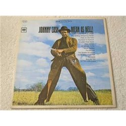 Johnny Cash - Mean As Hell LP Vinyl Record For Sale