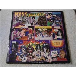 Kiss - Unmasked LP Vinyl Record With Poster For Sale