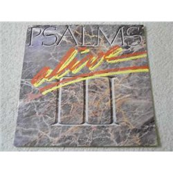 Maranatha Singers - Psalms Alive! III LP Vinyl Record For Sale