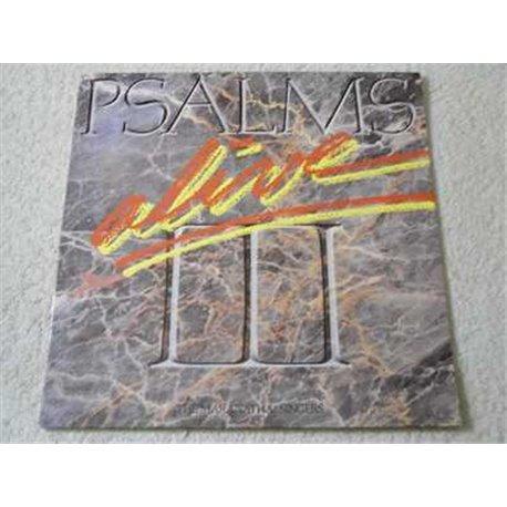 Maranatha Singers - Psalms Alive! III LP Vinyl Record For Sale