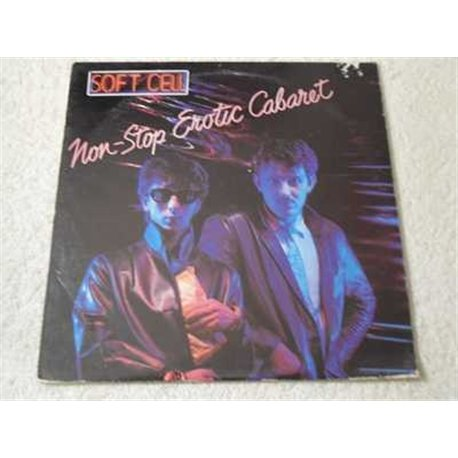 Soft Cell - Non-Stop Erotic Cabaret LP Vinyl Record For Sale