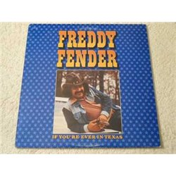 Freddy Fender - If You're Ever In Texas LP Vinyl Record For Sale