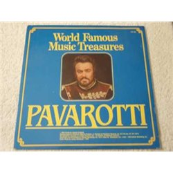 Pavarotti - World Famous Musical Treasures LP Vinyl Record For Sale