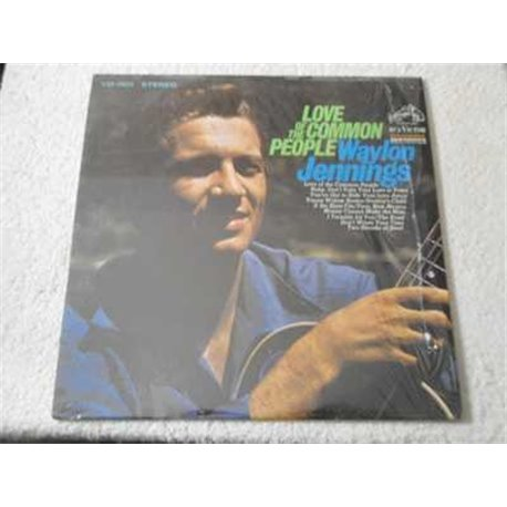 Waylon Jennings - Love Of The Common People LP Vinyl Record For Sale