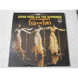 Diana Ross And The Supremes - Live At London's Talk Of The Town LP Vinyl Record For Sale