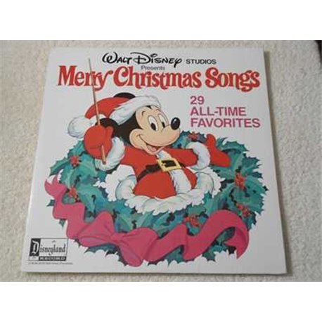 Walt Disney - Merry Christmas Songs 2xLP Vinyl Record For Sale