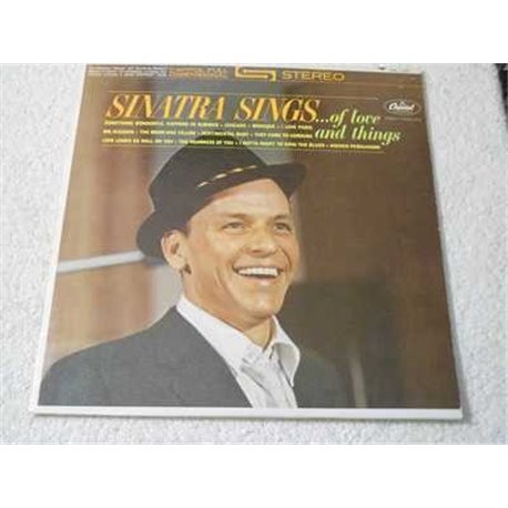 Frank Sinatra - Sinatra Sings LP Vinyl Record For Sale