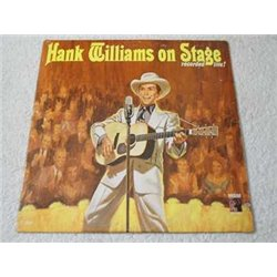 Hank Williams - On Stage Recorded Live! LP Vinyl Record For Sale