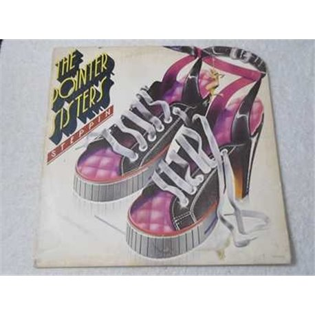 The Pointer Sisters - Steppin LP Vinyl Record For Sale