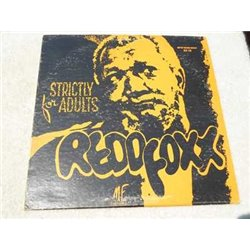 Redd Foxx - Strictly For Adults LP Vinyl Record For Sale