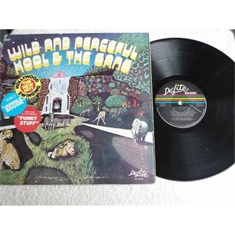Kool & The Gang - Wild And Peaceful LP Vinyl Record For Sale