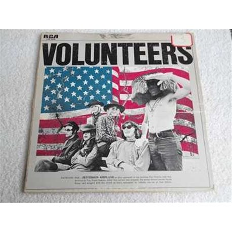 Jefferson Airplane - Volunteers LP Vinyl Record For Sale