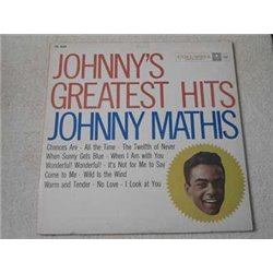 Johnny Mathis - Johnny's Greatest Hits LP Vinyl Record For Sale