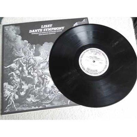 Franz Liszt - Boris Khaikin - Dante Symphony LP Vinyl Record For Sale