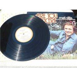 Mel Tillis - Are You Sincere LP Vinyl Record For Sale