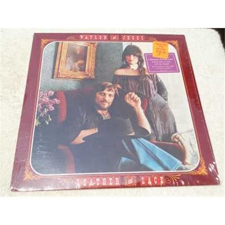 Waylon And Jessi - Leather And Lace LP Vinyl Record For Sale