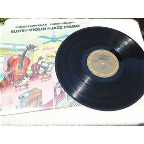 Pinchas Zukerman / Claude Bolling - Suite For Violin And Jazz Piano LP Vinyl Record For Sale