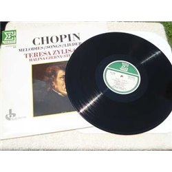 Chopin / Teresa Zylis-Gara - Melodies Songs Lieder Op. 74 LP Vinyl Record For Sale