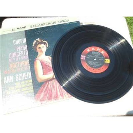 Ann Schein / Eugene Goossens - Chopin: Piano Concerto - Nocturne LP Vinyl Record For Sale