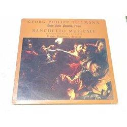 Georg Philipp Teleman - Saint Luke Passion 1744 LP Vinyl Record For Sale
