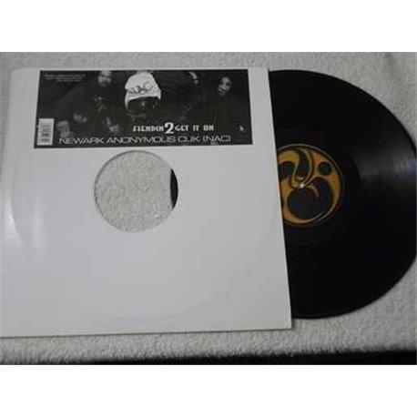 Newark Anonymous Clik - Fiendin' 2 Get It On LP Vinyl Record For Sale