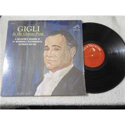 Gigli - In His Glorious Prime LP Vinyl Record For Sale